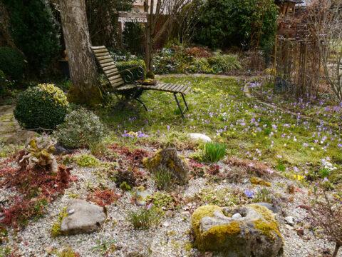 Der Steingarten in Wurzerls Garten