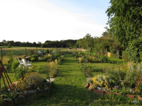 Blick über den poetischen Garten
