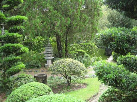 Im Japanischen Garten, Botanischer Garten Santo Domingo