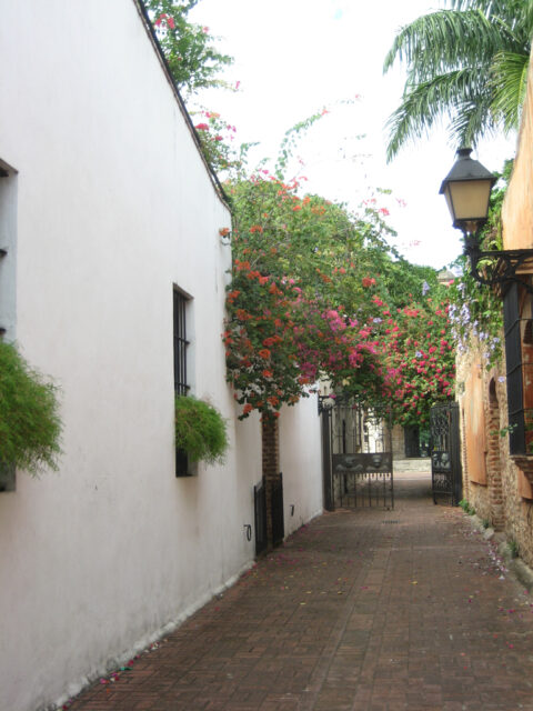 In der Zona Colonial in Santo Domingo