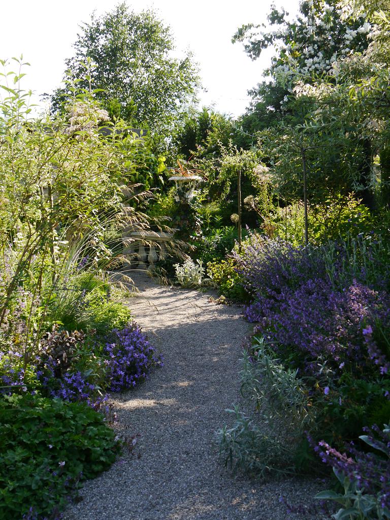 Die Mondschein-Allee im Garten Petra Steiner