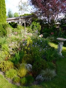 Das Insel-Beet im Inselgarten, Garten Petra Steiner