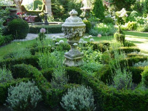 Der Knotengarten, Knot Garden, Garten Petra Steiner