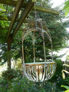 Terrassenbeleuchtung im Garten Schroth, aus der Deko-Scheune Erna de Wolff