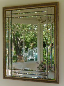 Der Garten im Spiegel des Pavillon im Garten Schroth
