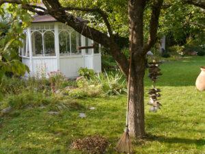 Auf der Obstbaumwiese, Garten Schroth