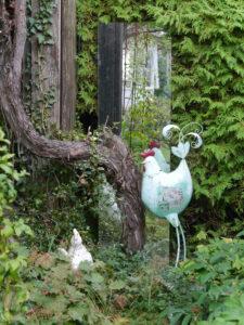 Abgrenzung zur Weinlaube, Garten Schroth