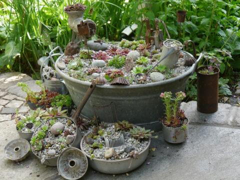 Die Wurzerlküche in Wurzerls Garten