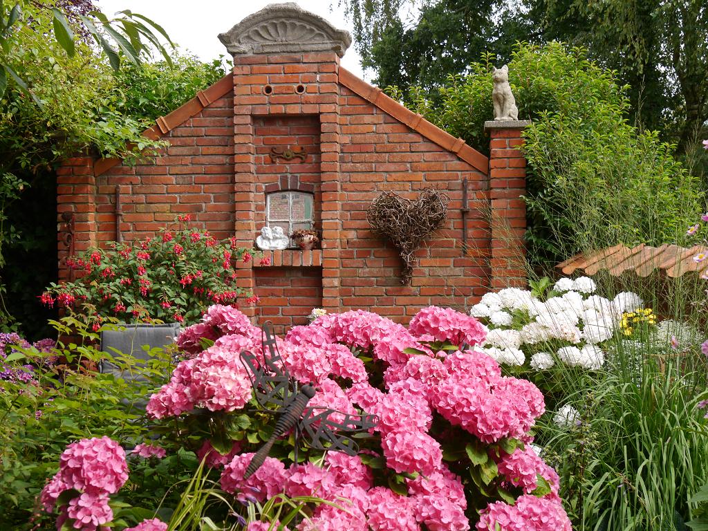 Eingang Garten Moorjuwel Hedwig Weerts
