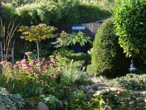 Martina Krauses Eulen-Garten
