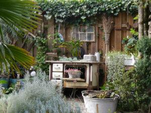 Aleida Zuchs Garten im Taka Tuka-Land, die Hexenküche
