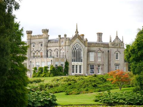 Schloss des Sheffield Park und Garden