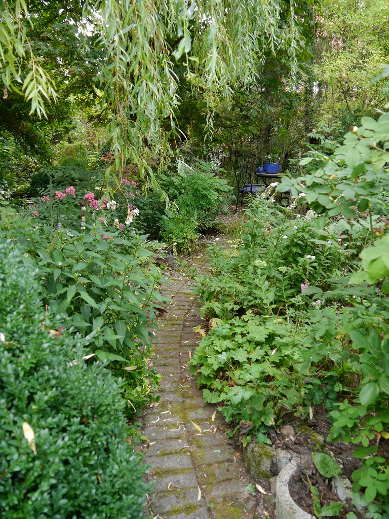 Vorderer Bereich, Sammlergarten Martina Henne