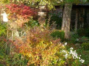 Am Paradiestor in Wurzerls Garten