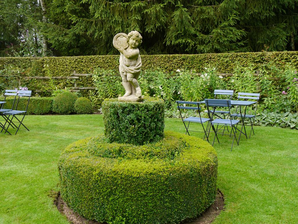 Vorderer Besuchergarten, Dina Deferme, Belgien