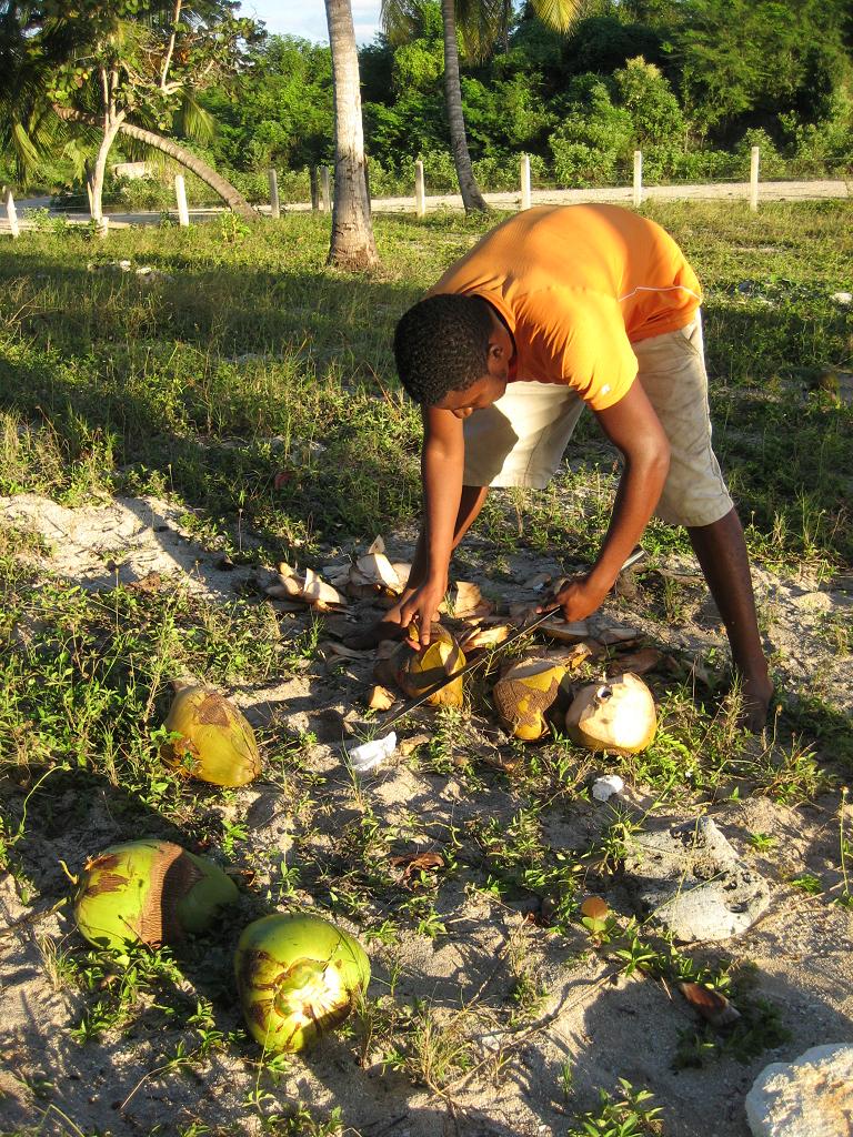 Privatstrand in der Dominikanischen Republik