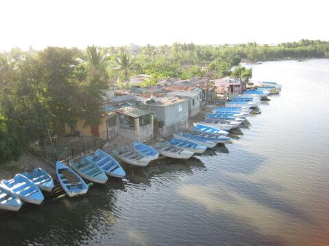 Dorf vor Boca Chica, Dominikanische Republik