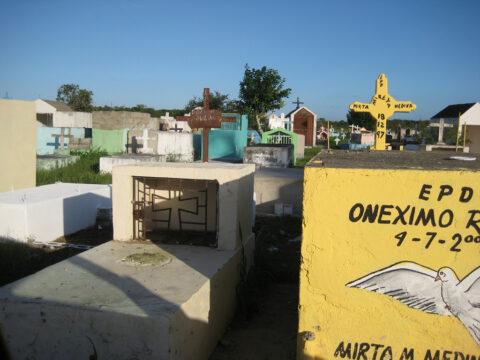 Friedhof in Boca Chica, Dominikanische Republik