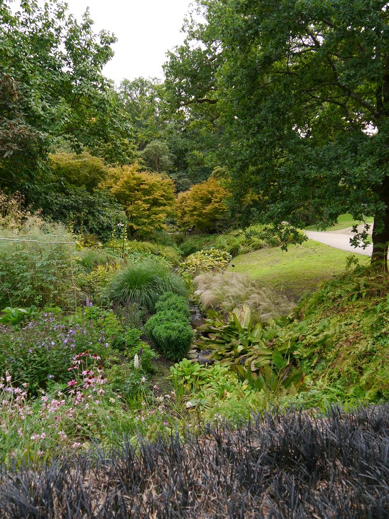 Wassergarten von Wakehurst, West-Sussex