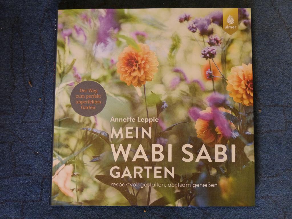 """Wurzerlsgarten, Start der Website mit einer Buchverlosung, """"Mein Wabi Sabi Buch"""""""
