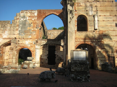 Ruine Hospital, Santo Domingo