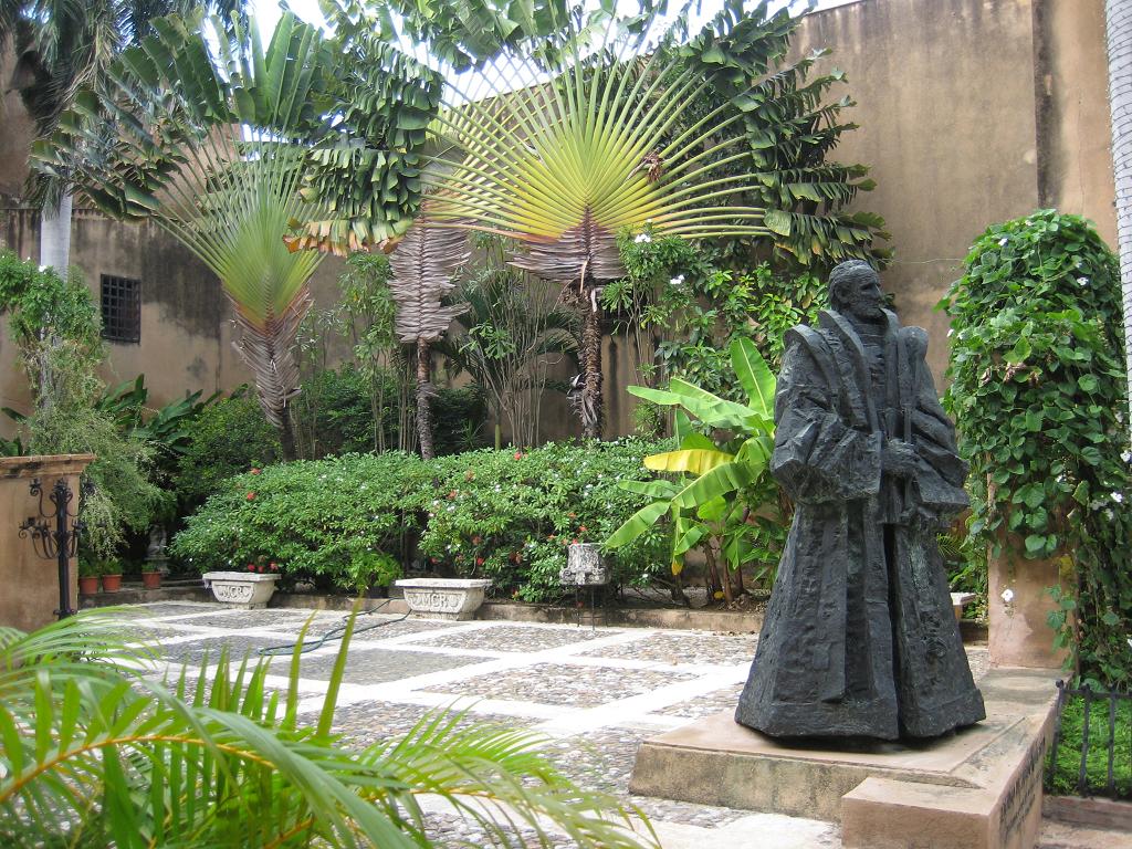 Innenhof Museo de las Casas Reales, Santo Domingo