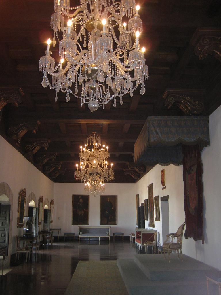 Repräsentationsraum, Museo de las Casas Reales