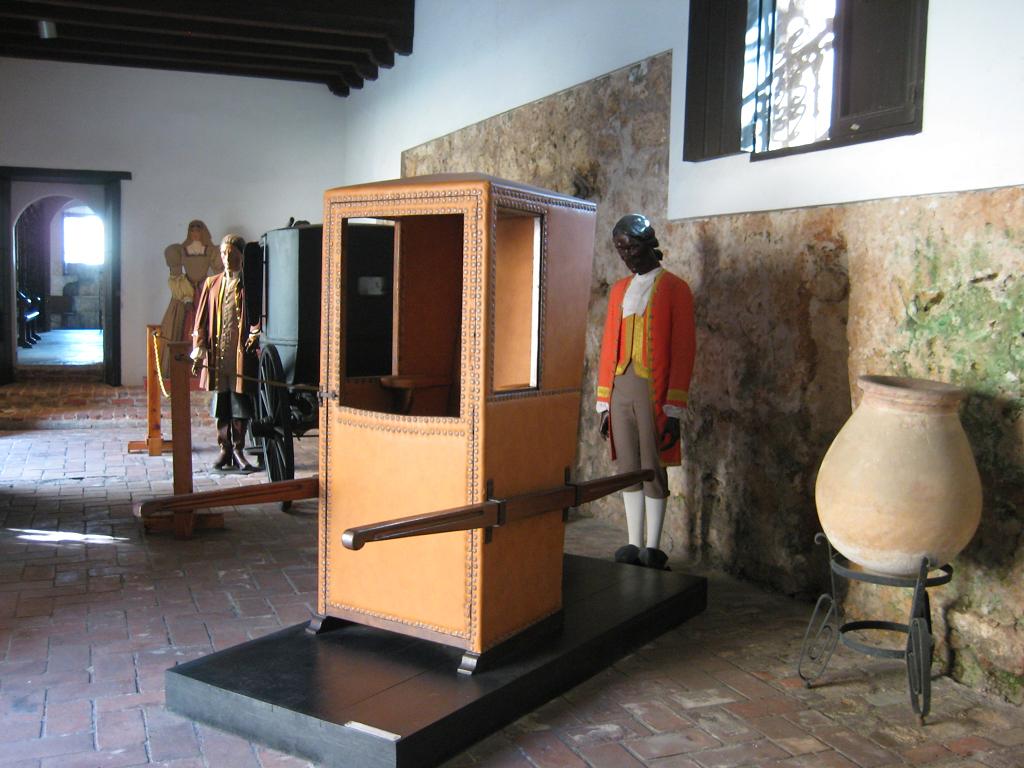 Vorraum, Museo de las Casas Reales
