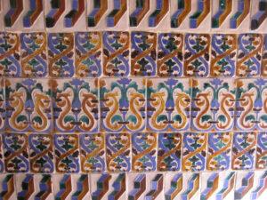 Azulejos, im Museo de las Casas Reales