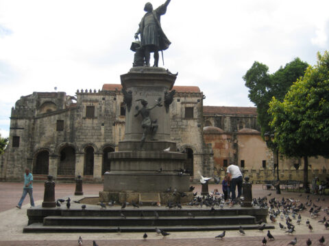 Kolumbus-Denkmal am Plaza Colon, Santo Domingo