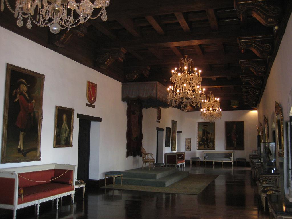 Repräsentationsraum Museo de las Casas Reales