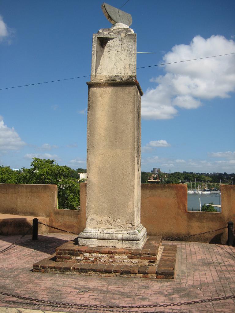 alte Sonnenuhr, Santo Domingo