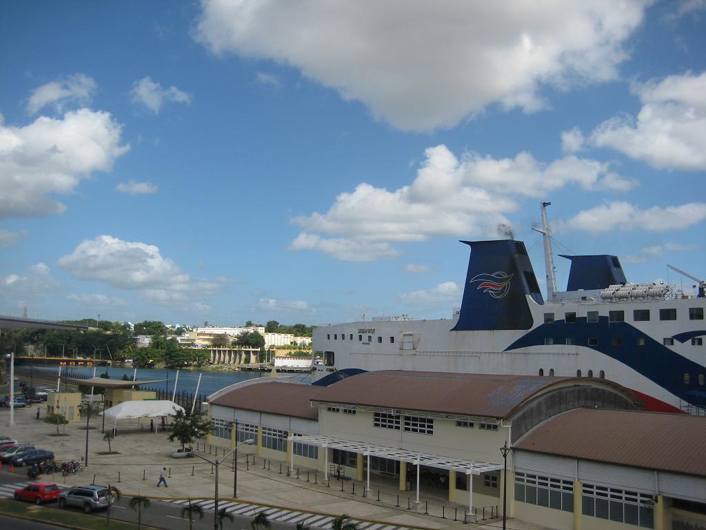 Anlegestelle im Rio Ozama für Kreuzfahrt-Schiffe, Santo Domingo