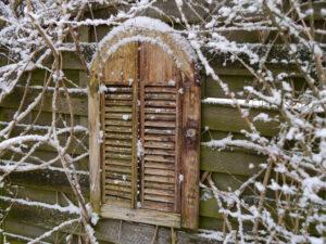 Winter in Wurzerls Garten