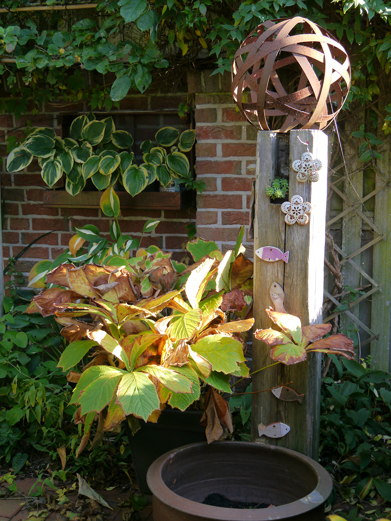Atrium-Garten im Fehngarten Koska