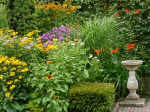 Spätsommergarten, Garten Moorriem