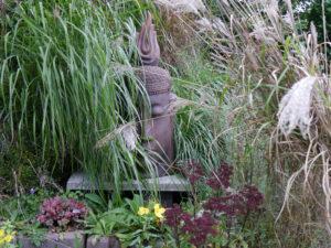 Miscanthus, Garten Erna de Wolff