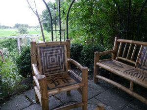 Sitzplatz auf dem Lug ins Land, Garten Erna de Wolff
