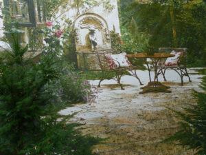 Gartenposter, Garten Erna de Wolff