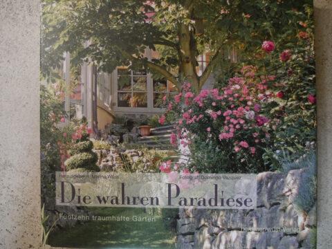 """Buchcover """"Die wahren Paradiese"""""""