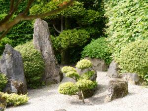 buddhistischer Koi-Garten im Park der Gärten, Bad Zwischenahn