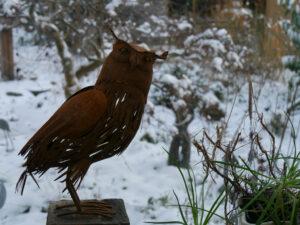 Vom Wintergarten aus kann man auch fotografieren.