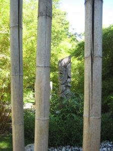 Asiatischer Meditationsgarten in den Trauttmansdorffer Gärten, Meran