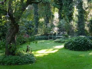 Schattengarten im Landhausgarten Hantelmann
