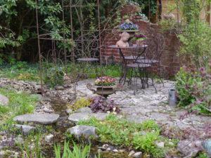 Das Rosenrondell in Wurzerlsgarten