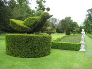 Topiary im Long Garden von Cliveden