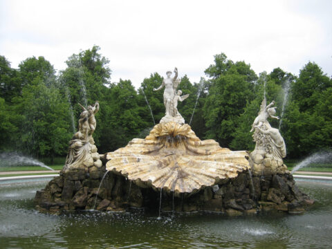 The Fountain of Love, der Liebesbrunnen in Cliveden