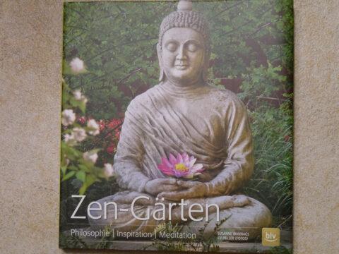 Buchcover Zen-Gärten von Susanne Wannags, Fotos Evi Pelzer