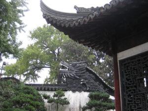 Drachenkopf im Yu Garden, Yu Yuang, Shanghai