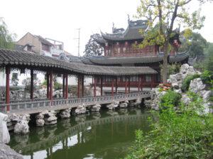 Wandelgang im Yu Yuan, Yu Garten, Shanghai